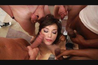 Streaming porn video still #8 from Massive Facials 4