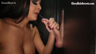 Streaming porn video still #7 from Gloryhole Secrets: Dick Suckin' Lips