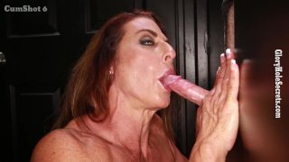 Streaming porn video still #5 from Gloryhole Secrets: Muscle MILFs Edition