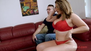 Streaming porn video still #3 from Britt James in Photos with Daddy