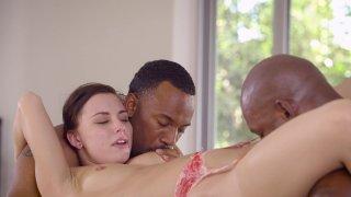 Streaming porn video still #4 from Black & White Vol. 7