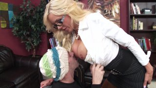Streaming porn video still #2 from Naughty Bookworms