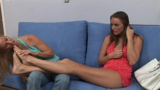 Streaming porn video still #1 from Tori Black & Her Girlfriends