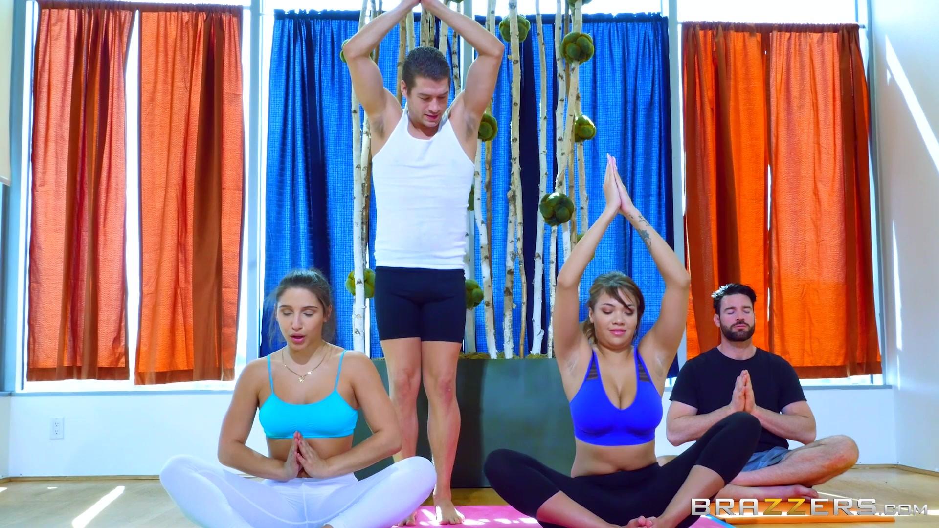 Showing Porn Images For Abella Danger Yoga Class Porn -5277