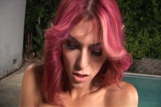 Streaming porn video still #6 from Domino Presley: Transsexual Goddess
