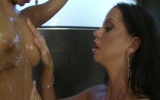 Streaming porn video still #1 from Lesbian Brunette Beauties 3