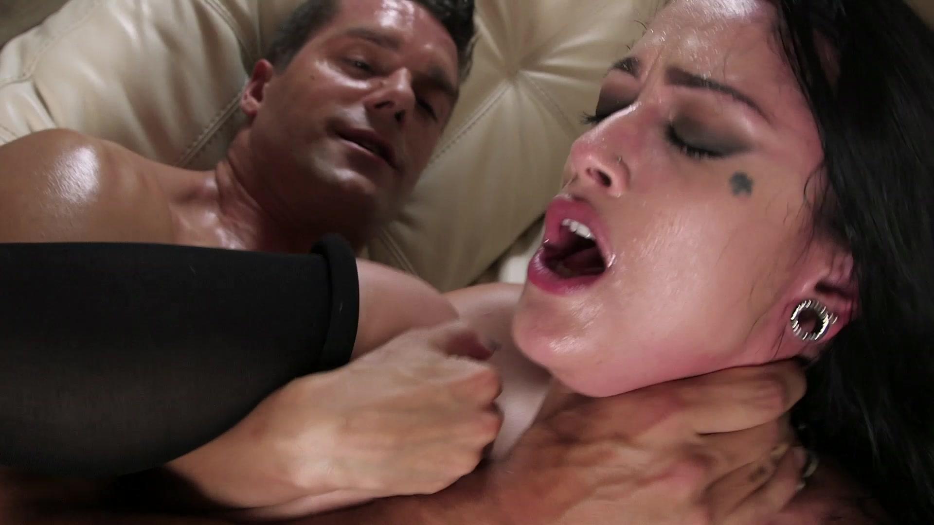 Scene 1 - Beautiful Dark Haired and Tattooed Babe Katrina Jade Takes the Big Cock  Starring:  Ramon Nomar  Katrina Jade