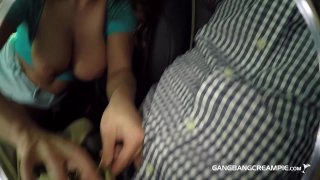 Streaming porn video still #3 from Gangbang Creampie: Next Door Naturals