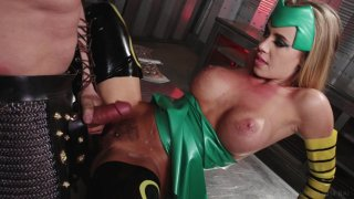 Streaming porn video still #9 from Thor XXX: An Axel Braun Parody