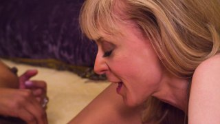 Streaming porn video still #3 from Between The Headlines: A Lesbian Porn Parody