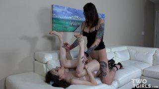 Streaming porn video still #6 from Two TGirls Vol. 4