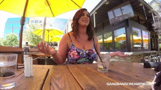 Streaming porn video still #2 from Gangbang Creampie: Curvy Edition