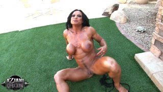 Streaming porn video still #7 from Muscle MILFs Vol. 2