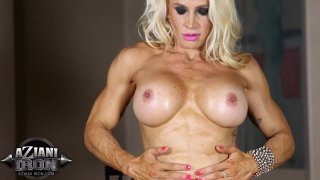 Streaming porn video still #2 from Muscle MILFs Vol. 2