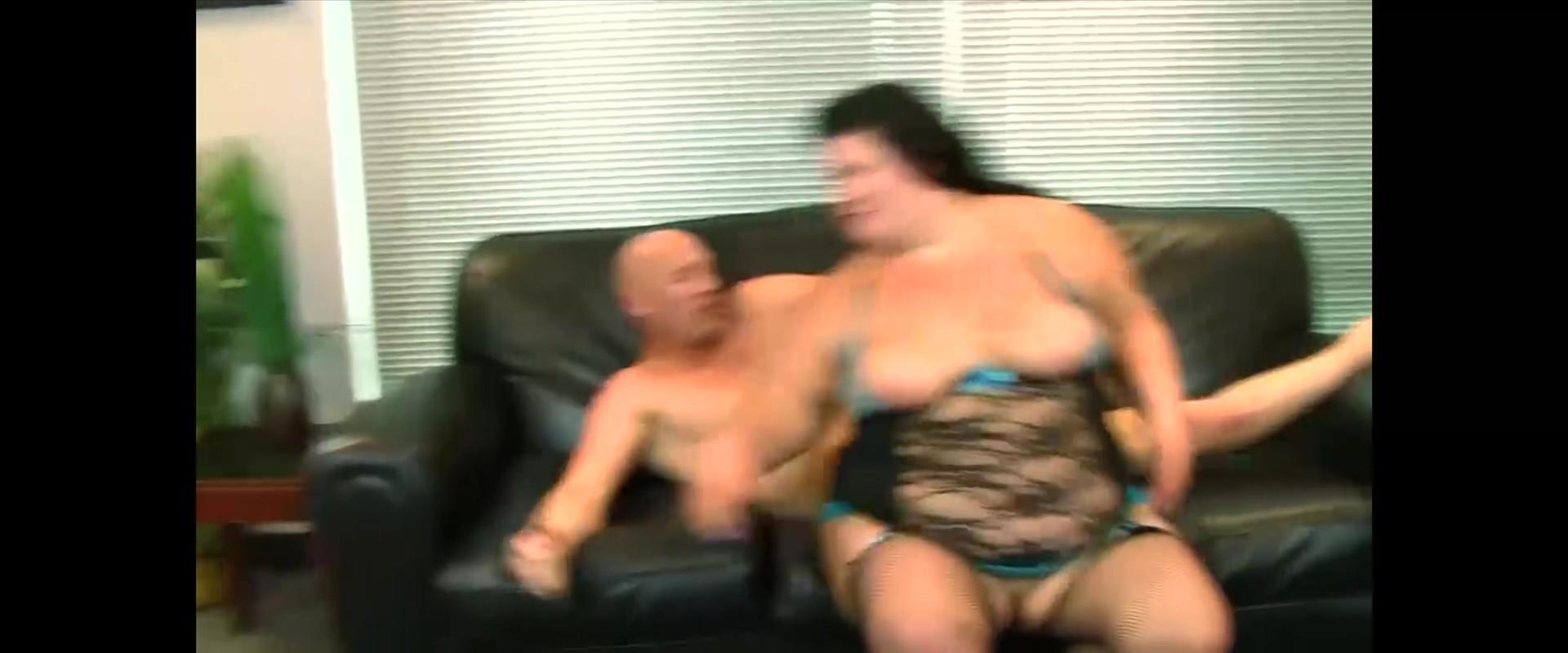 Woman licks own clit