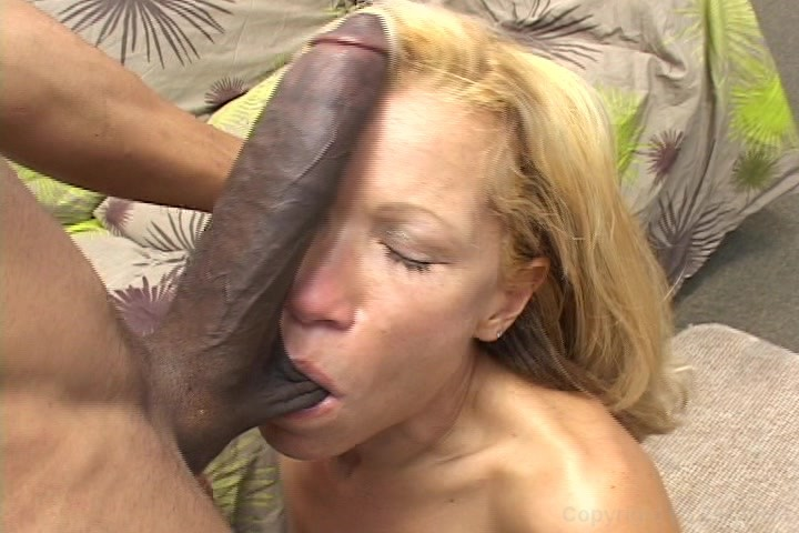 My wife 1st monster cock