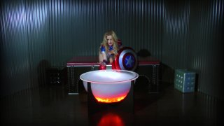 Streaming porn video still #1 from Wonder Woman! With Miss America And Power Girl