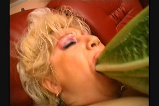 Streaming porn scene video image #4 from Mature Slut Sticks All the Things in Her Pussy