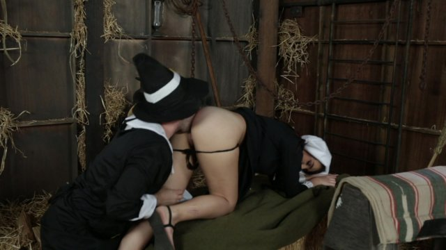 Amish babe blair williams saves the heritage with her pussy 9