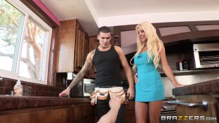 Streaming porn video still #1 from Horny Housewives 4