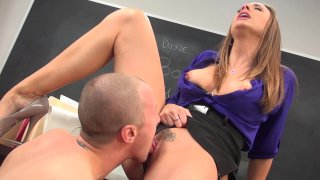 Streaming porn video still #4 from Hot For Teacher