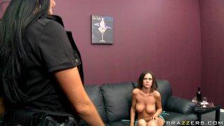 Streaming porn video still #1 from Big Tits In Uniform 4