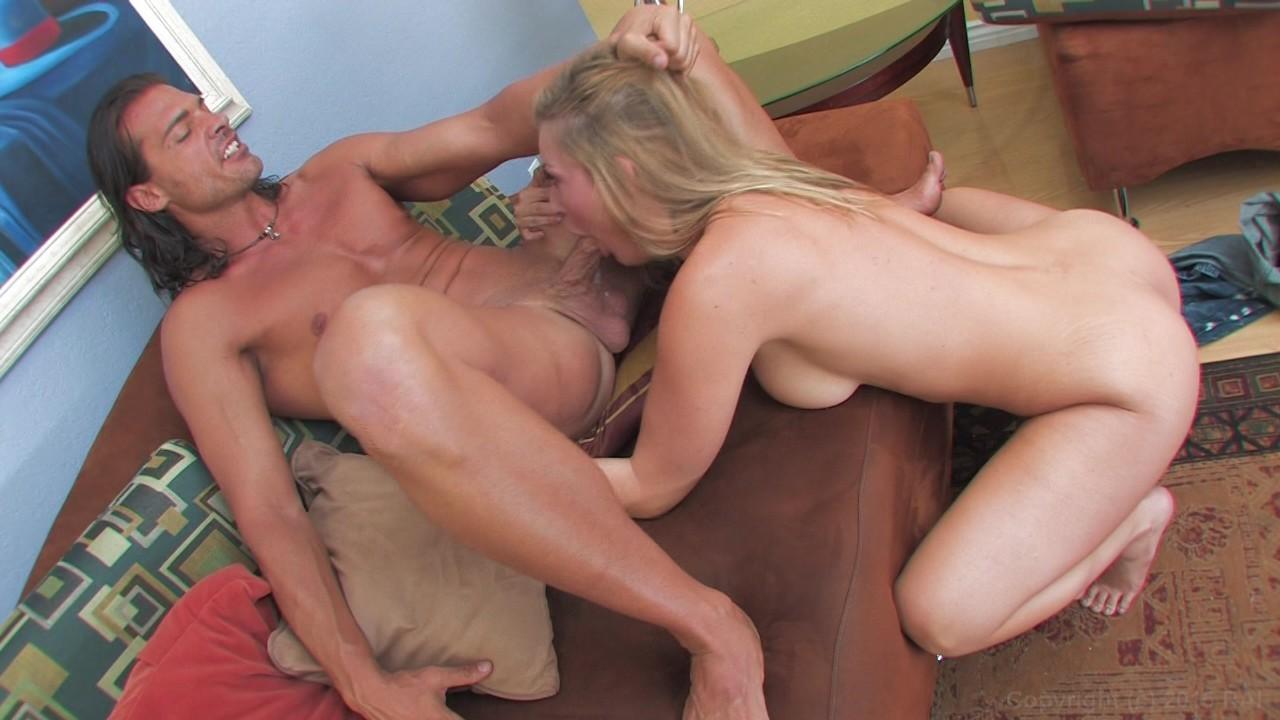 image Hottie avy scott rubs her pussy in the kitchen
