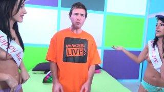 Streaming porn video still #7 from Fuck a Fan Adriana Chechik, Jennifer White, Layla Price