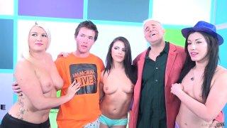 Streaming porn video still #10 from Fuck a Fan Adriana Chechik, Jennifer White, Layla Price