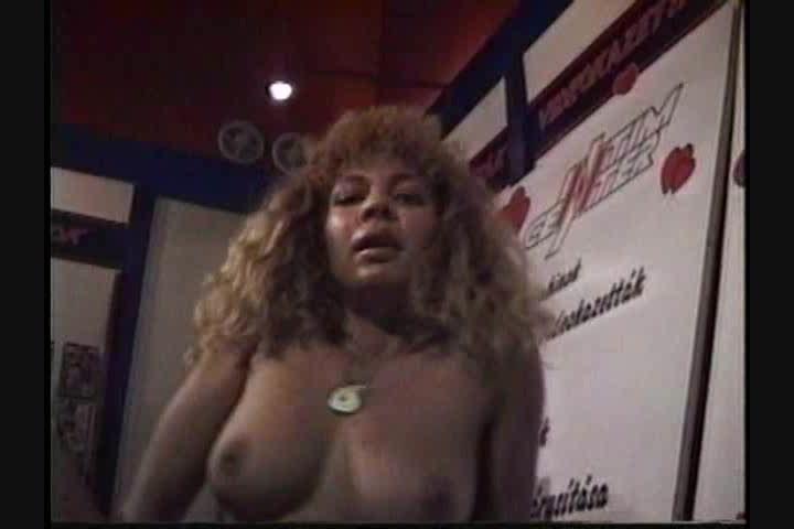 Horny black anal hairy women
