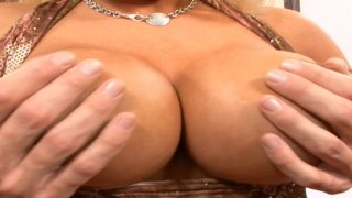 Streaming porn video still #1 from Big Cum Covered Tits 2
