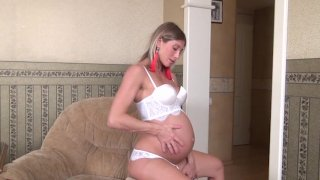 Streaming porn video still #1 from Pregnant Pussy #4