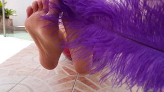 Streaming porn video still #1 from Jill Kassidy Hardcore Foot Job