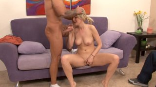 Streaming porn video still #1 from 1st Time Swingers 3