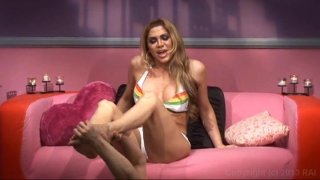 Streaming porn video still #20 from Best Of Up Close Transsexual POV