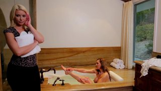 Streaming porn video still #1 from Mother Daughter Spa Day