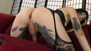 Streaming porn video still #2 from She-Male Strokers 87