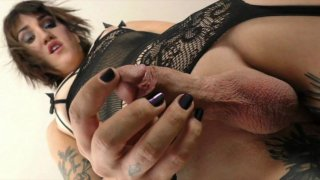 Streaming porn video still #3 from She-Male Strokers 87