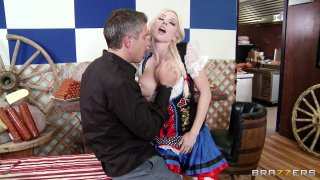 Streaming porn video still #2 from Big Tits In Uniform 13