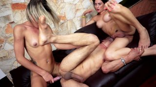 Streaming porn video still #7 from Brazilian Transsexuals Trans 3 Somes