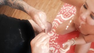 Streaming porn video still #4 from Oiled & Spoiled