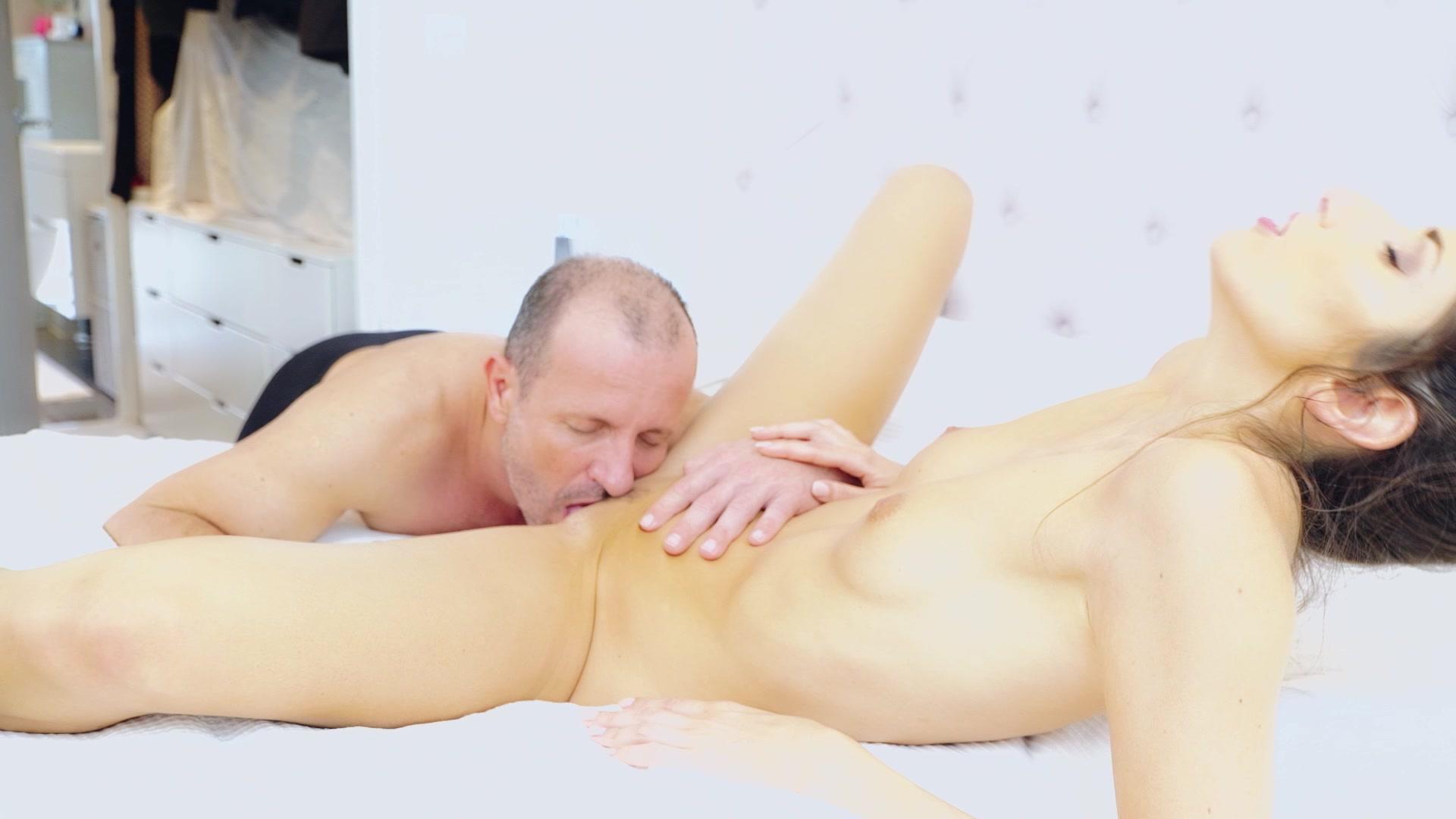 Brunette Hottie Clea Gautier Sucks and Fucks a Big Dick HD porn video scene.