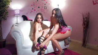 Streaming porn video still #2 from Naughty Stepsisters Vol. 2