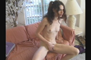 Streaming porn scene video image #1 from Skinny Hairy Teen gets Fucked