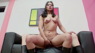 Streaming porn video still #6 from #SheMales With #StraightGirls