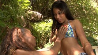 Streaming porn video still #4 from Black Amateur Lesbians