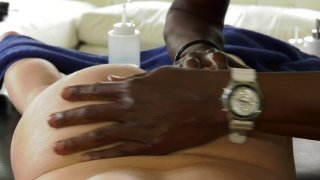 Streaming porn video still #2 from My Black Masseur Vol. 2