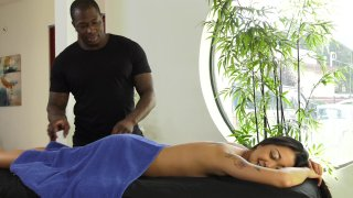 Streaming porn video still #1 from My Black Masseur Vol. 2