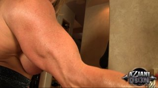 Streaming porn video still #3 from Muscle MILFs Vol. 3