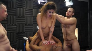 Streaming porn video still #4 from Gangbang Creampie First Timers Vol. 2